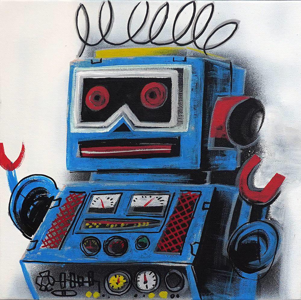 한성진 작가의 Im robot series 08(2020)