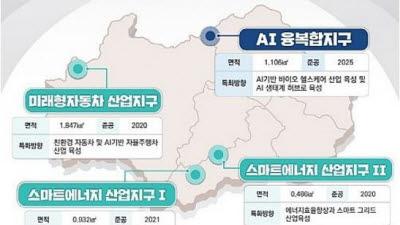 광주경제자유구역청 기구·정원 마무리…내년 1월 개청 '순조'