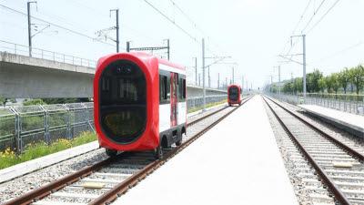 5G 기반 자율주행열차 기술 개발됐다...철도연 세계 최초 성과