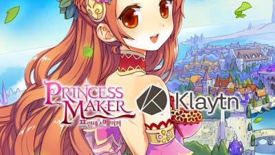 엠게임, 블록체인 게임 '프린세스메이커 for Klaytn' 출시