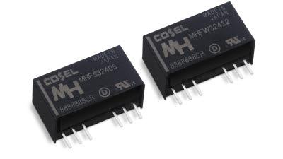 텔콤아이씨피, 코셀 DC-DC 컨버터 신제품 'MH 시리즈' 국내 공급