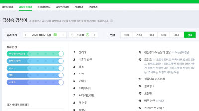 추석 연휴 인터넷 달군 실급검은···'서면 음주운전'·'나훈아'·'생리대' 등에 관심