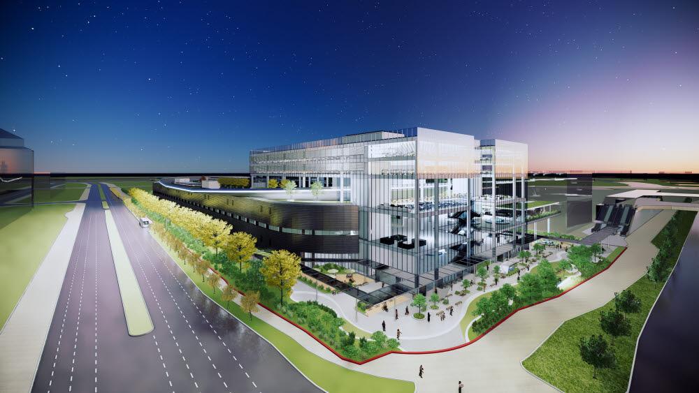 현대차그룹 싱가포르 글로벌 혁신센터(HMGICS) 조감도