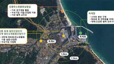 지질연, 강릉시와 기후변화 대응 분야 협력추진...저탄소 신산업 창출 나서