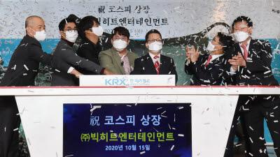 BTS 소속사 빅히트엔터테인먼트 코스피 상장