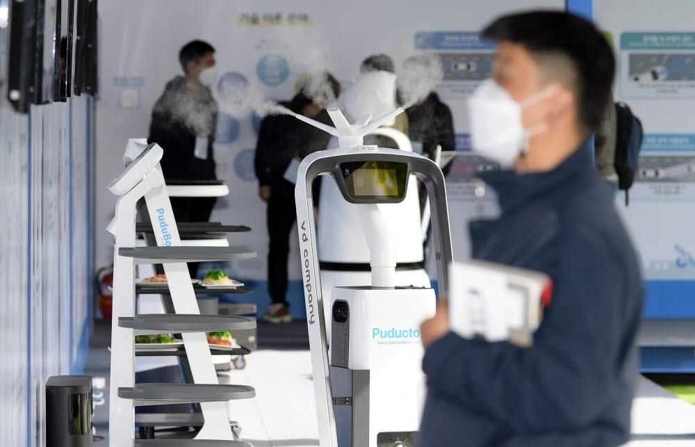 미래 자율주행 모빌리티가 한자리에 '제4회 판교자율주행모빌리티쇼' 개막