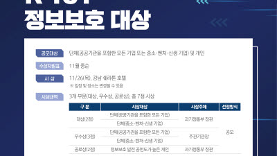 KISIA, 제19회 K-ICT 정보보호 대상 공모…26일 마감