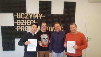 지니로봇, 폴란드 에듀테크 기업과 JV 설립