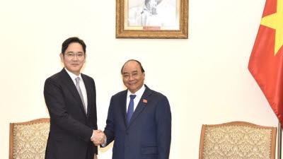 이재용 부회장, 베트남 총리 만나 협력·투자 방안 논의