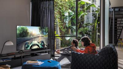 [기획] 게임 즐기려 TV 바꾼다…'삼성 QLED TV, 게임 기능 압권'