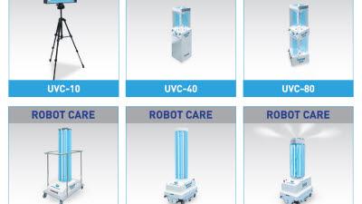 인아텍, 'K-HOSPITAL FAIR'서 살균로봇·자율주행로봇 등 언택트 로봇 서비스 전시