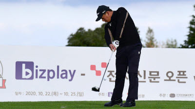 [비즈플레이-전자신문 오픈]김승혁, 샷감 굿...최선을 다해 시즌 첫 우승 도전