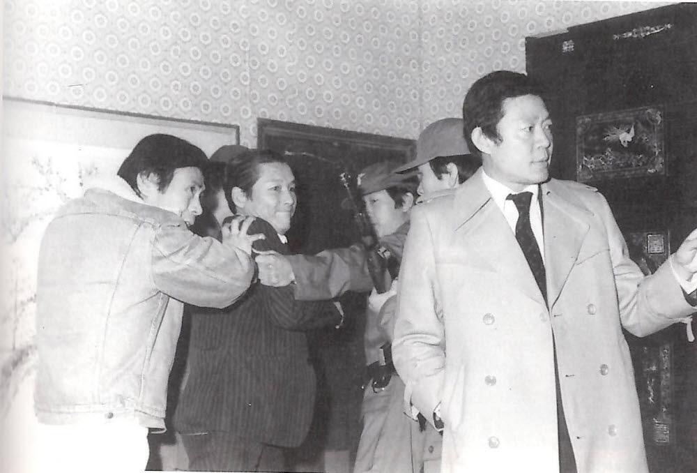 MBC 드라마 113 수사본부(1973~83) 당시의 모습. (사진=도서 정욱 배우인생 60년(출판사 동행) 발췌)