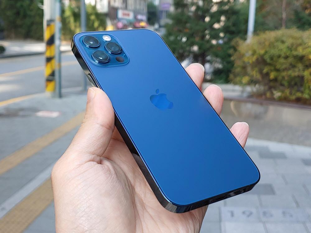 애플 아이폰12 프로 퍼시픽 블루