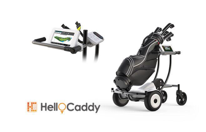 자율주행 골프 로봇카트인 헬로캐디(HelloCaddy) .