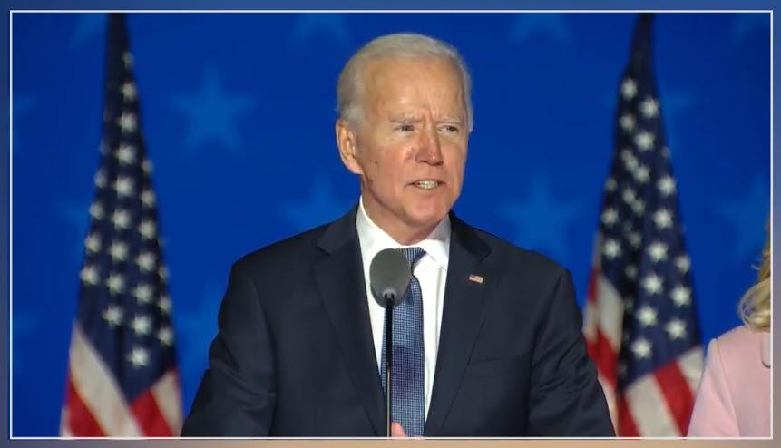 조 바이든 미국 대통령 후보(출처: 바이든 공식 유튜브)