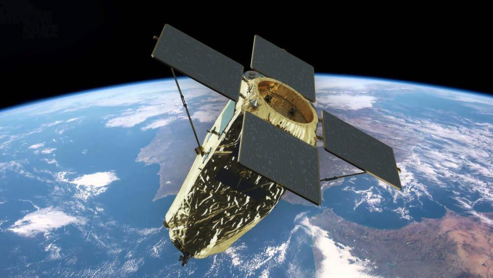 지구 궤도를 도는 차세대 중형위성 상상도.