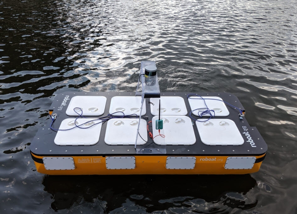 MIT가 개발한 자율운항로봇 로보트Ⅱ <사진=MIT>