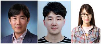 (사진 왼쪽부터) 서울대 기계항공공학부 응용 나노 및 열공학 연구실 고승환 교수, 이진우, 설혜연 박사과정
