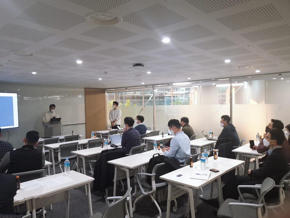 한국성장금융이 지난 16일 마포 프론트원(Front1)에서 핀테크혁신펀드 직접투자 확대를 위해 Closed IR을 개최했다.