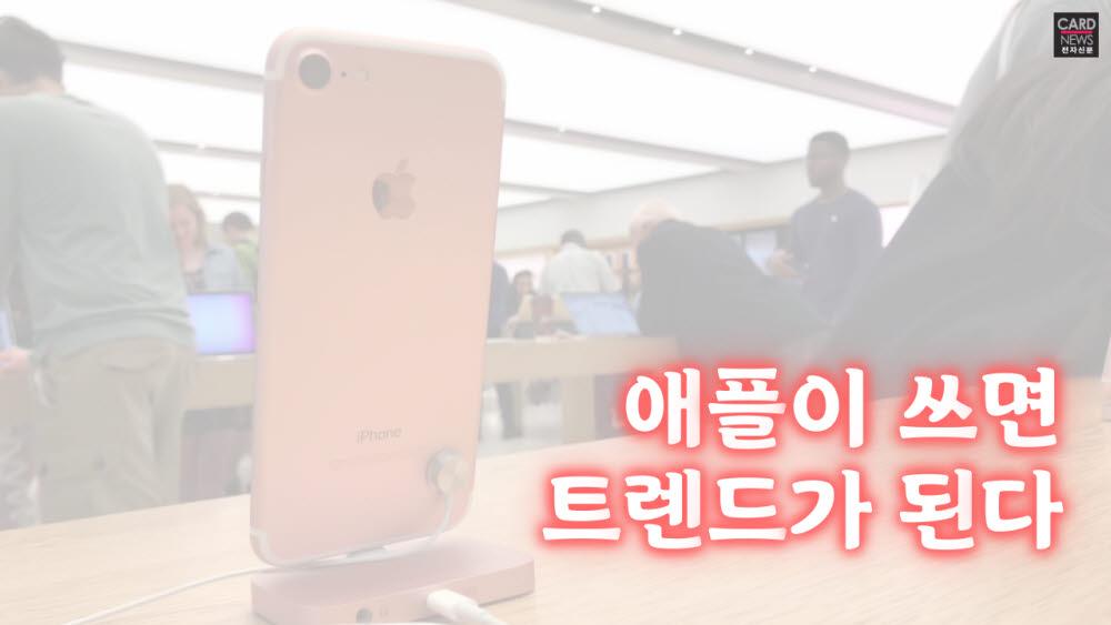 [카드뉴스]애플이 쓰면 트렌드가 된다