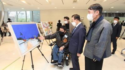 JW그룹, 장애인 미술 공모전 'JW 아트 어워즈' 시상식 개최