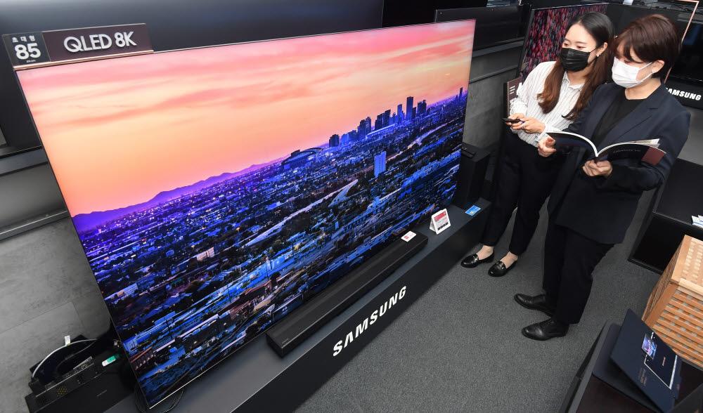 삼성 TV 사진=이동근기자