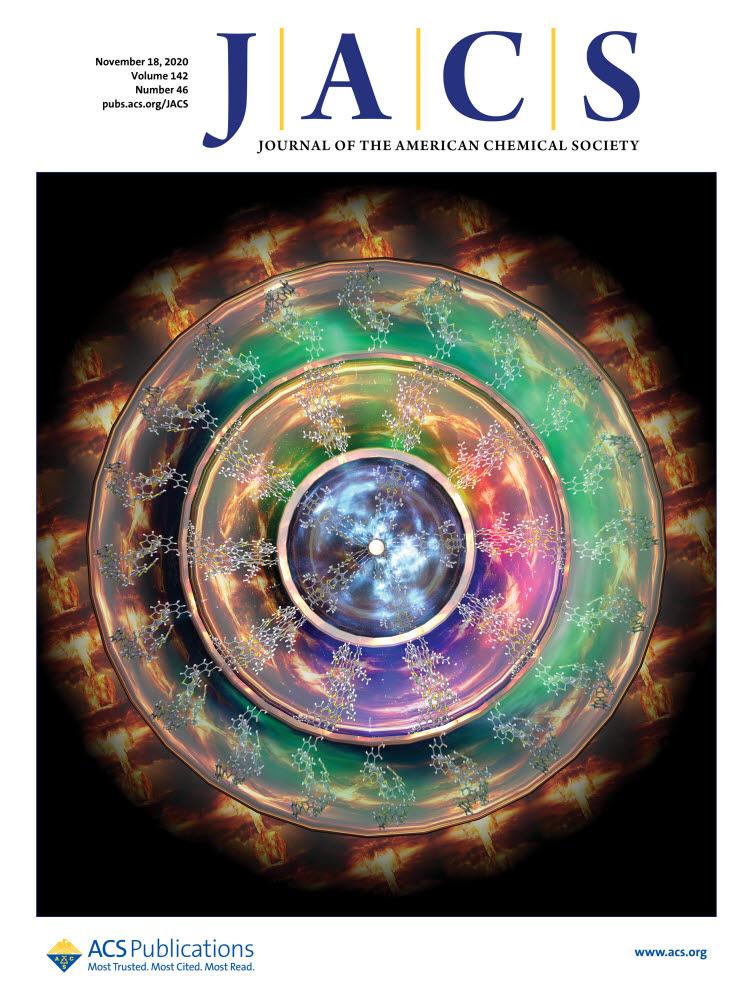 JACS(Journal of the American Chemical Society) 표지 논문 이미지