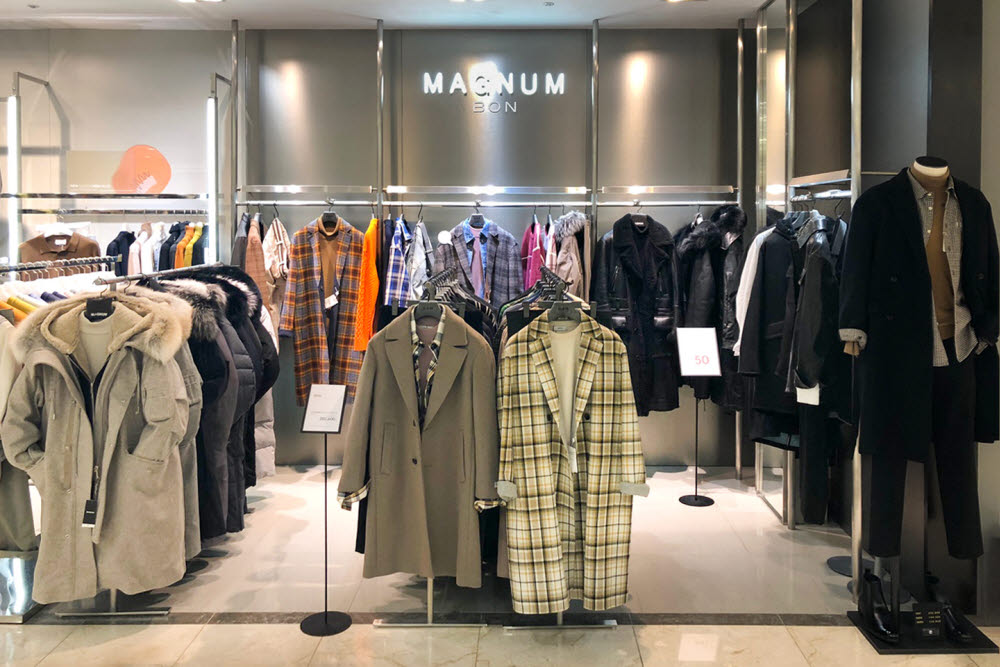 본(BON) 매그넘 컬렉션 롯데백화점 청량리점