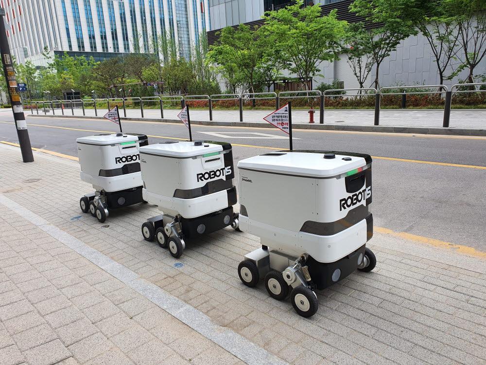 로보티즈 자율주행로봇