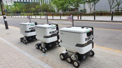 로보티즈, 주변 상권과 연계한 로봇 음식 배송 시범 서비스 시작