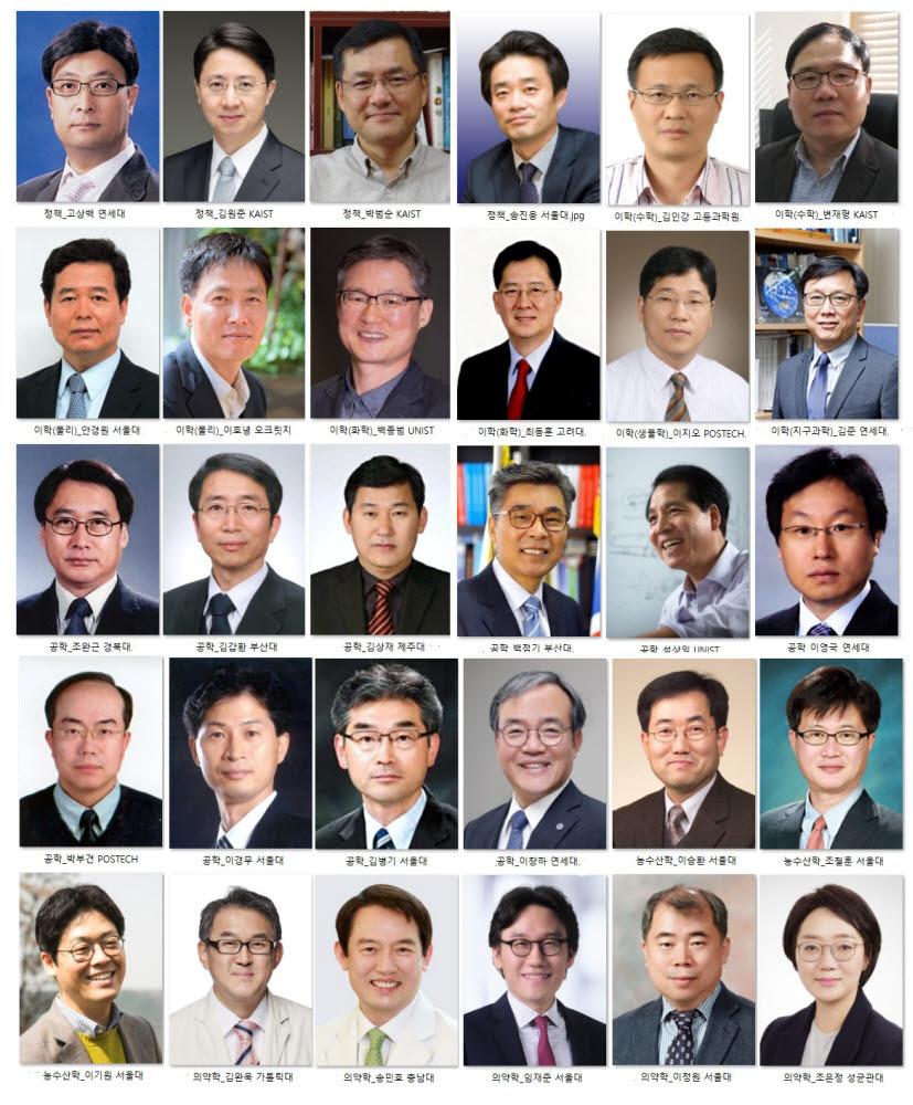 2021년도 한림원 정회원 30명 신규 선출