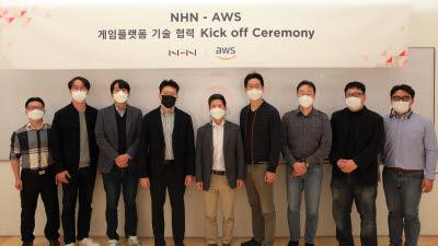 NHN 게임베이스, AWS 마켓 플레이스 입점