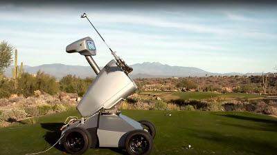 AI 골프로봇 엘드릭, 박세리 넘고 만능로봇 진화 꿈꾼다