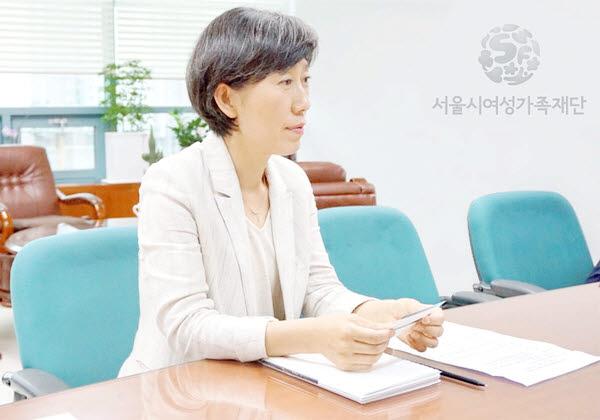 백미순 서울시여성가족재단 대표이사