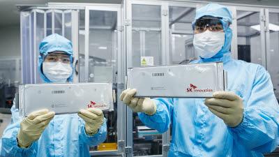 SK이노베이션, 새해 상반기 美 배터리공장 시험생산 시작