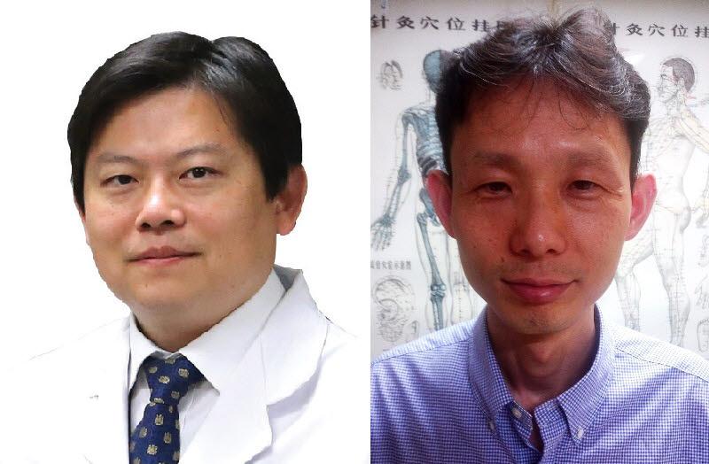 인수일 DGIST 교수(왼쪽)와 이봉효 대구한의대 교수