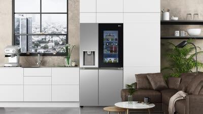 LG전자 2021년 첫 냉장고는 '인스타뷰'