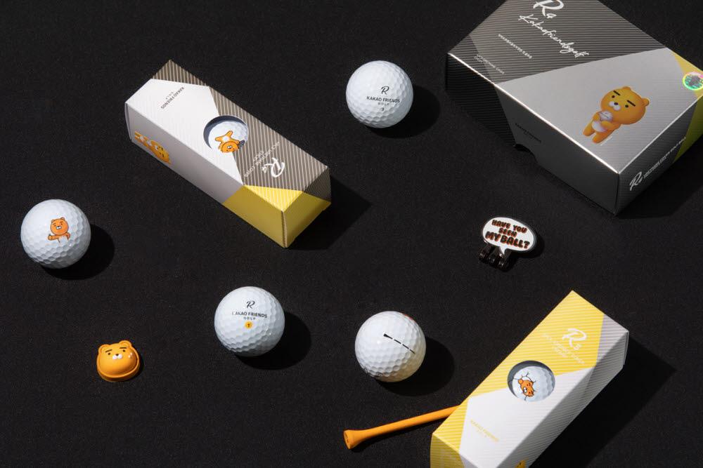 카카오프렌즈 골프, 골프공 R 시리즈.