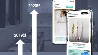 """아이앤나, 코로나19 불황 속 매출 700% UP… """"비대면 신생아 영상 공유서비스 인기"""""""