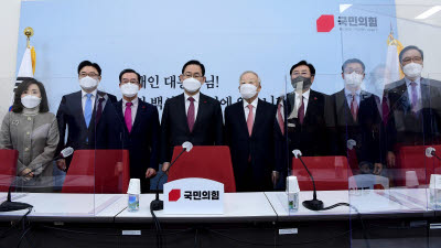 경제단체 간담회 발언하는 주호영 원내대표