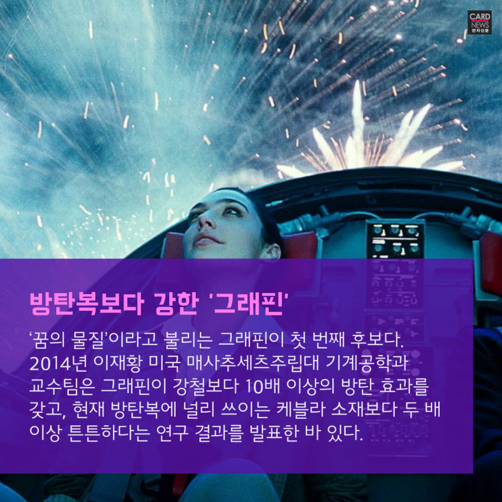 [카드뉴스]영화 '원더우먼' 무기, 현실에서도 가능할까?