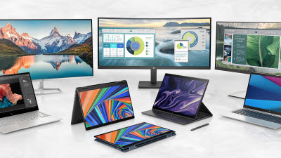 [CES 2021]HP, 하이브리드 업무 환경 돕는 IT 디바이스 대거 공개