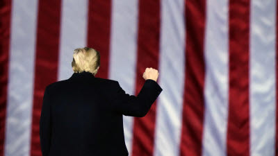 혼돈의 미국...민주당 하원, 트럼프 탄핵 발의, 워싱턴은 봉쇄