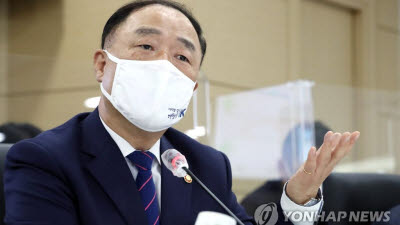 """홍남기 """"벤처·스타트업 복합금융 3조원 확충"""""""