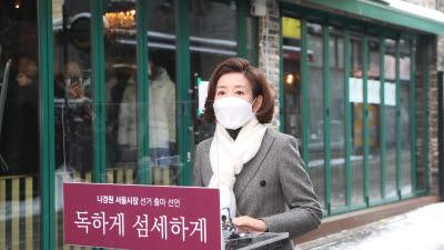 나경원, 서울시장 선거 출마 선언