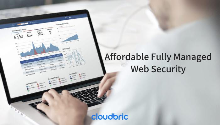 클라우드 기반 웹 보안 서비스 클라우드브릭 WAF. 클라우드브릭 제공
