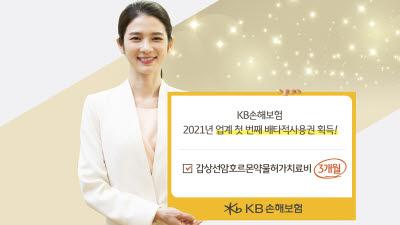 KB손보, '갑상선암호르몬약물허가치료비' 보장 3개월 배타적사용권 획득