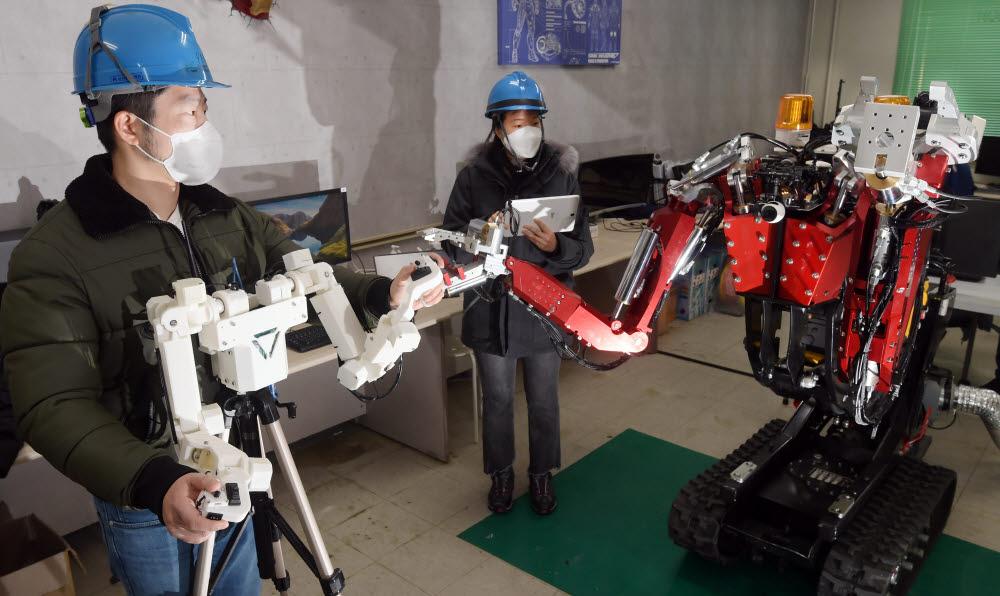 원자력사고 로봇이 해결한다