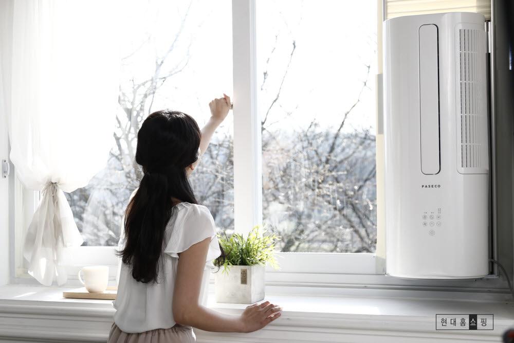 참고사진 파세코 창문형 에어컨